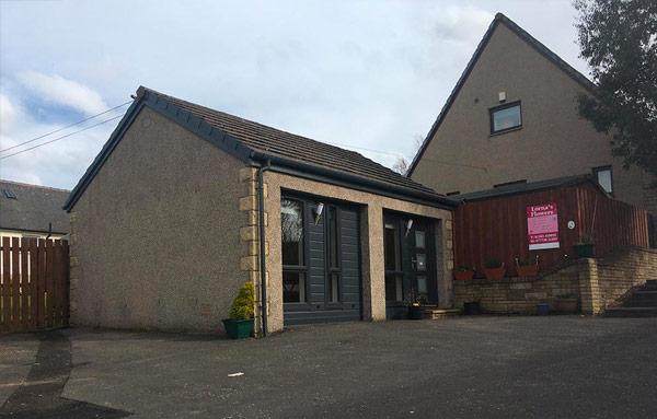 Hillend Fife Ancillary Building